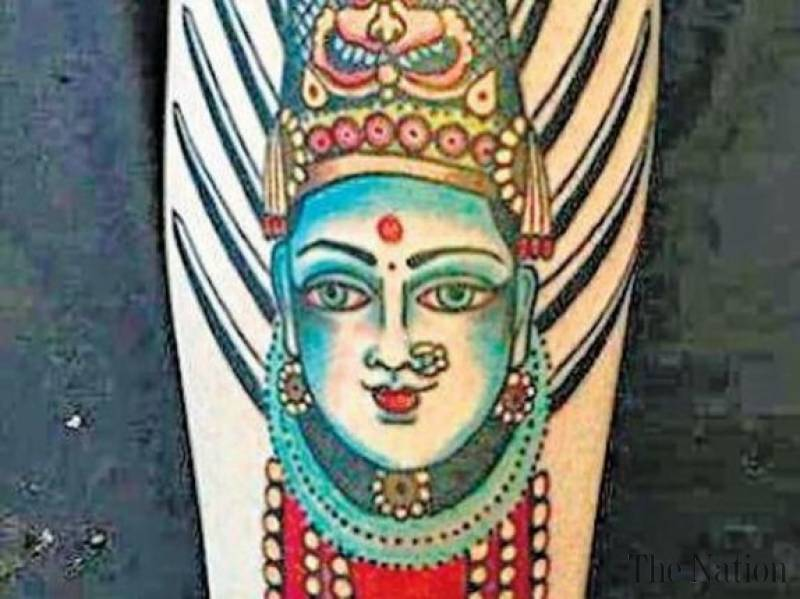 Australian harassed in India over tattoo