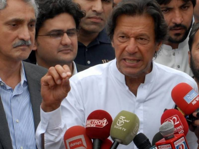 Federal government preventing arrest of wanted criminals in KPK, says Imran Khan