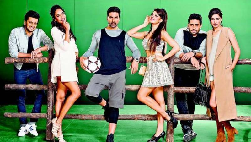 First look of Housefull 3 shows sizzling Akshay Kumar, Nargis Fakhri and the gang