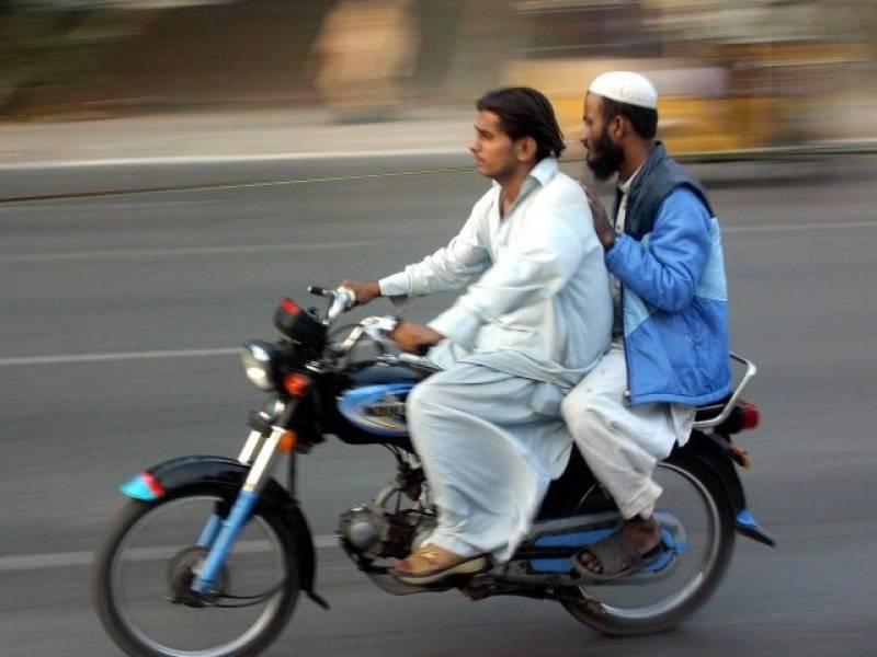 Pillion-riding banned in Punjab on 9th, 10th Muharram