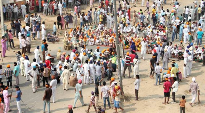 Sikhs protest intensifies across Indian Punjab over desecration of holy book