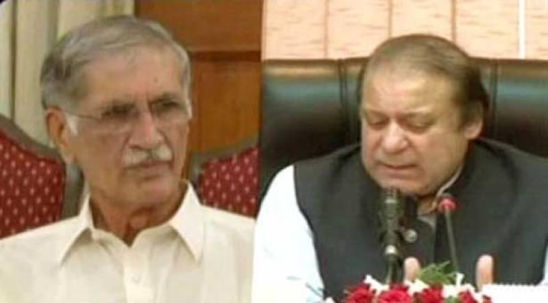 PM Nawaz, CM Pervez Khatak briefed about earthquake aftermath