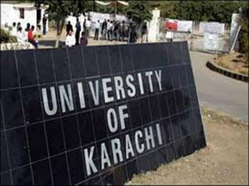 Female students play cricket in Karachi University as protest against IJT torture incident