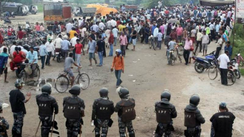 Indian protester shot dead by Nepal police
