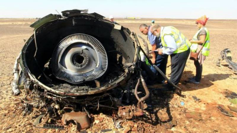 Sinai plane crash: Russia says 'external influence' behind crash