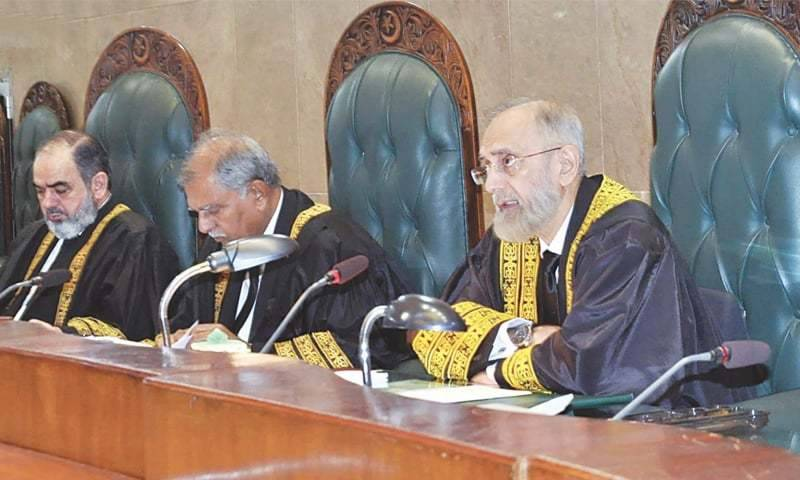 SJC dismisses PTI's reference against ECP members