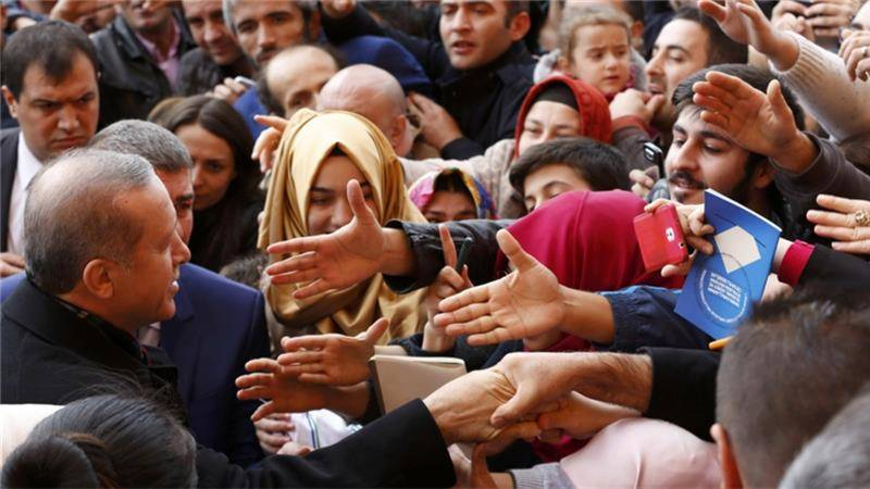 Turkey's ruling party gains majority