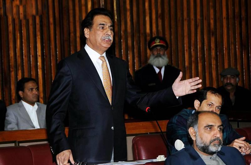 Ayaz Sadiq, Riazul Haq Juj and Babar Nawaz take oath as NA members