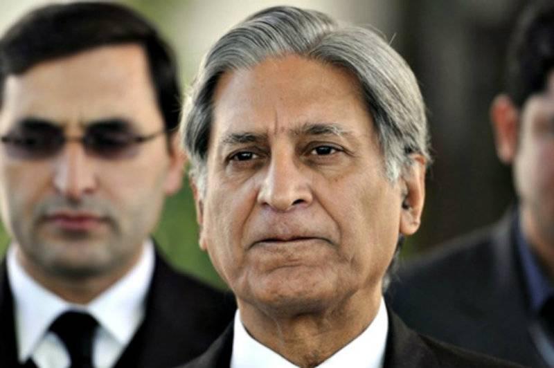 Aitzaz Ahsan represents PTI for councillors' disqualification