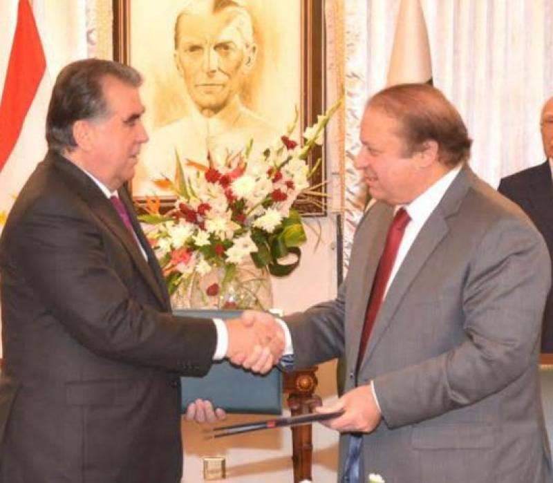 PM Nawaz, Tajik President discuss bilateral ties in Murree