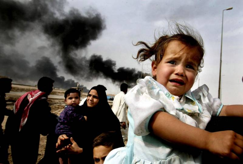 All the children we are now bombing, what if they weren't Muslim?