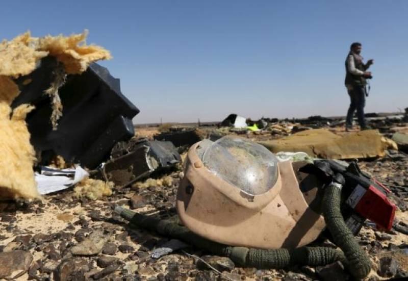 Egypt detains two airport staff over Sinai plane crash