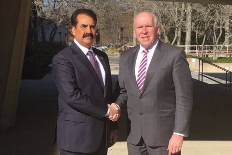 Gen Raheel Sharif holds two-hour long meeting with CIA Director