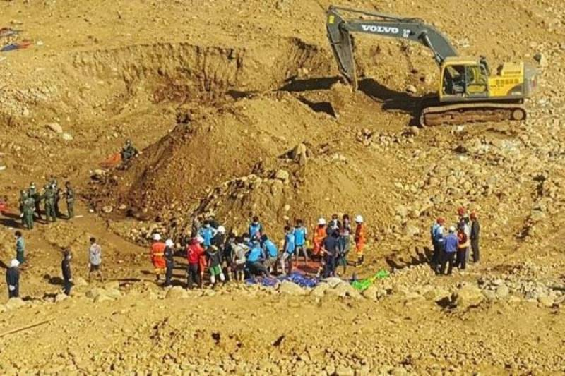 Over 90 killed in Myanmar landslide
