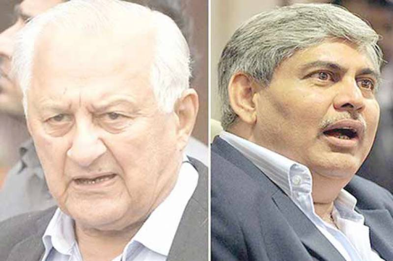 PCB, BCCI chiefs hold meeting in ICC HQ in Dubai