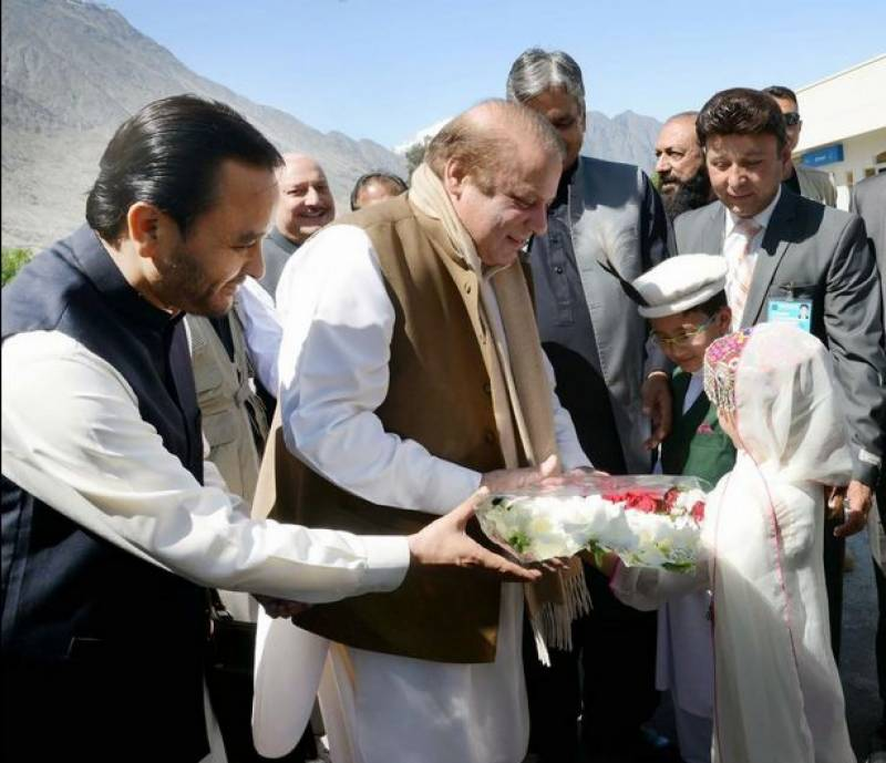 PM Nawaz to review development projects in Gilgit today
