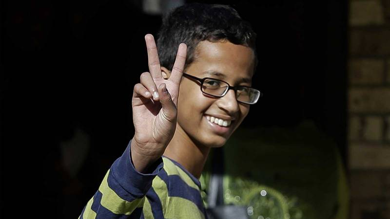 Texas 'clock boy' seeks $15 million compensation and apology