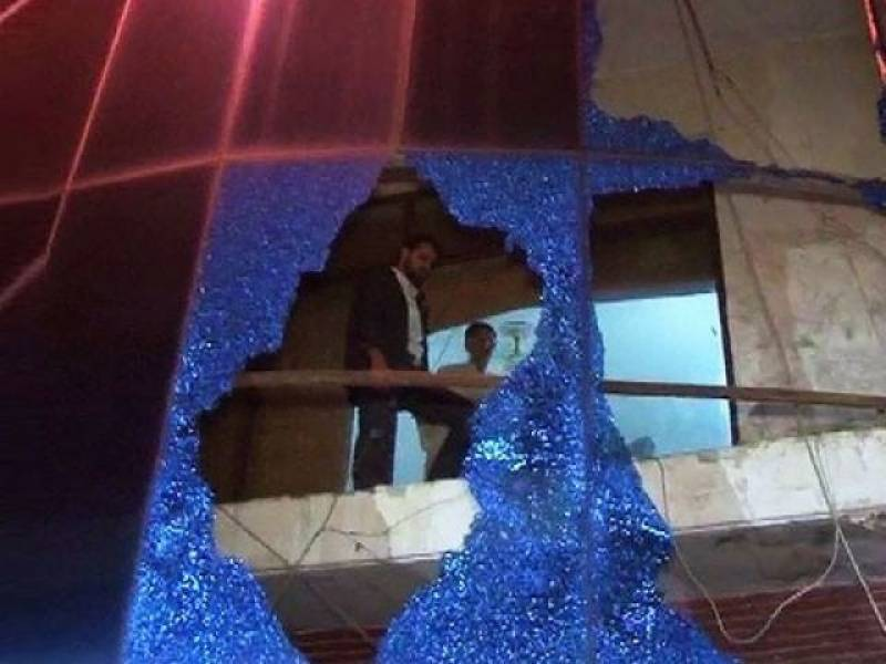 Four injured in 'ISIS attack' on TV channel office in Lahore