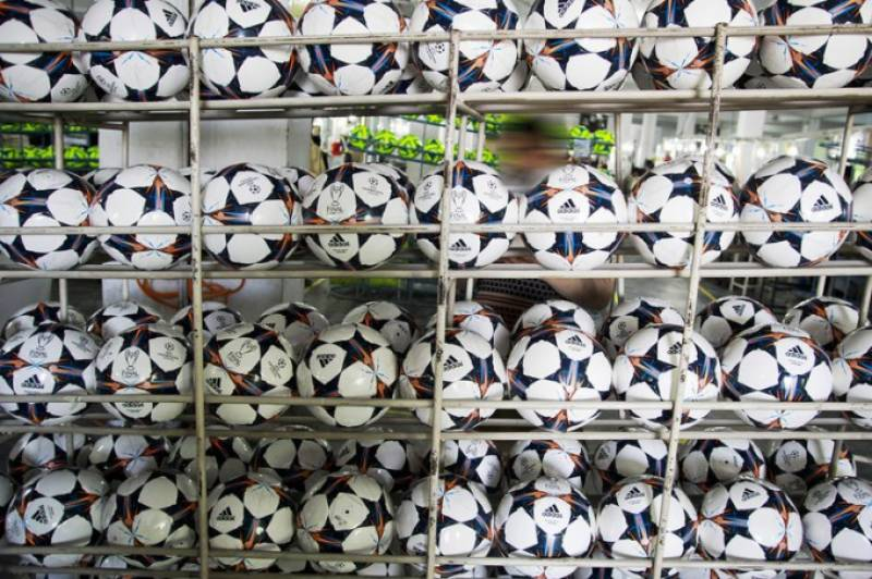 Pakistan exported footballs worth $211 million in 2014, claims SMEDA