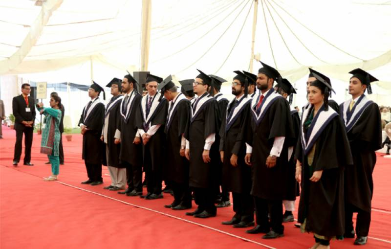 591 students conferred degrees at IBA's Convocation 2015