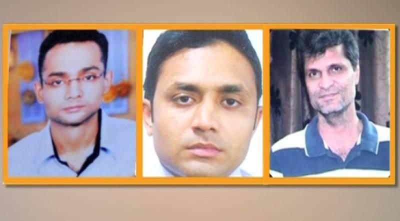 Mohsin, Moazzam and Khalid Shamim remanded into FIA custody in Imran Farooq murder case