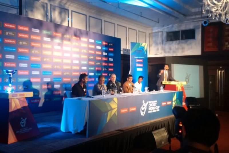 ICC U19 Cricket World Cup 2016 schedule announced