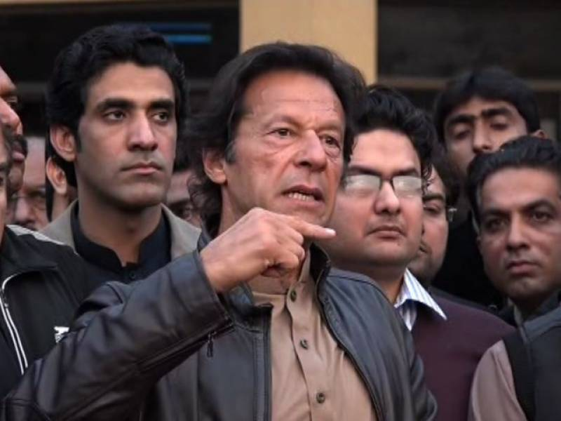 Imran Khan announces intra-party elections after defeat in LB polls