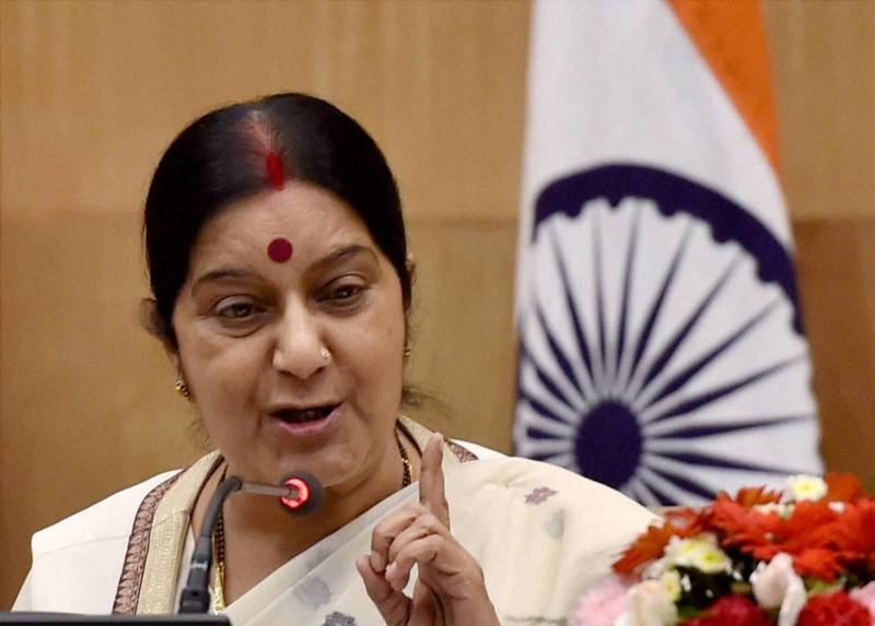 Indian foreign minister Sushma Swaraj to visit Pakistan on Tuesday
