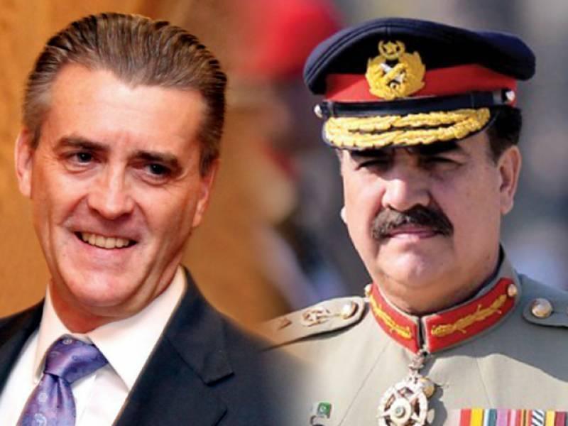 US special envoy Richard Olson meets Gen Raheel Sharif