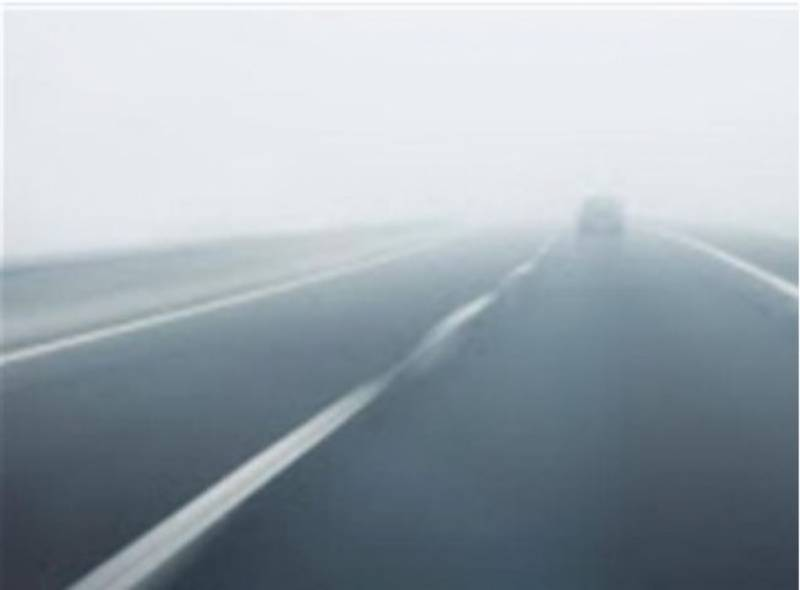 Lahore-Pindi Bhattian section of M2 closed due to fog