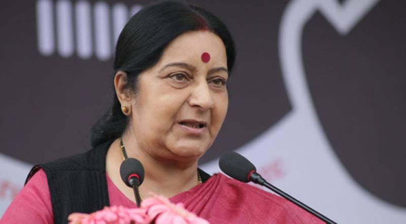 New Delhi wants good ties with Islamabad: Sushma Swaraj