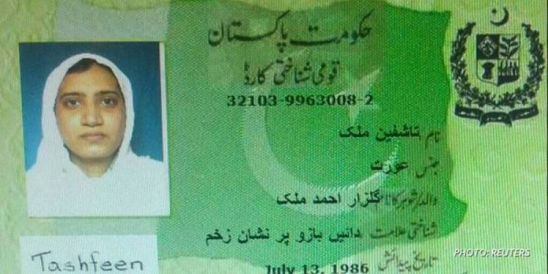 Tashfeen Malik's CNIC number shown by CNN is original, 'She is a Pakistani national and registered voter'