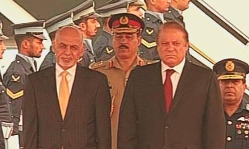 Afghan President Ashraf Ghani arrives in Islamabad
