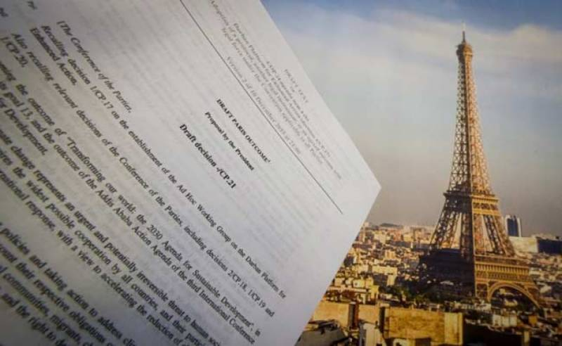 Final draft of climate deal ready for adoption