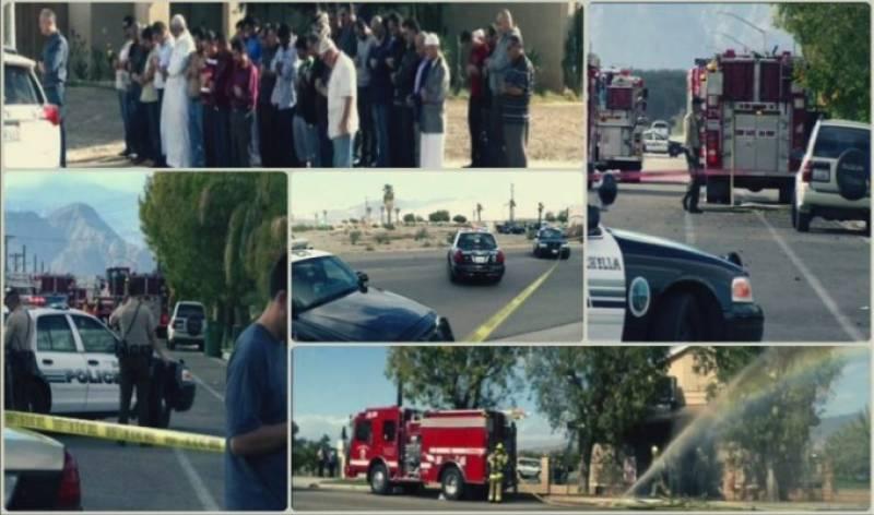 Fire-bomb attack at California Masjid