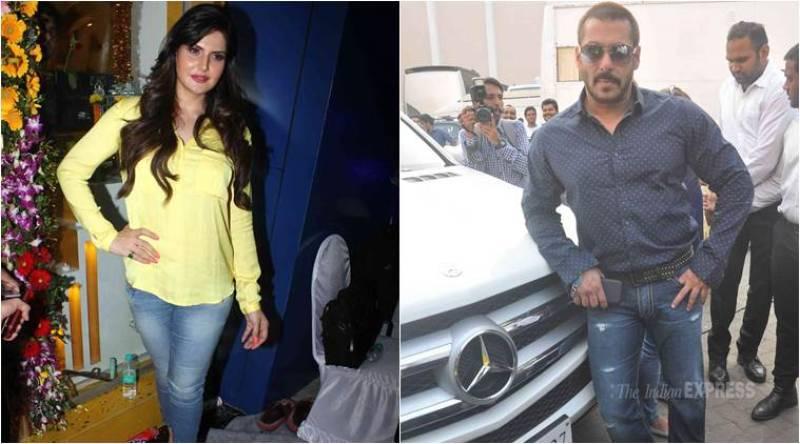 Salman Khan does not like girls doing bold roles: Zarine Khan