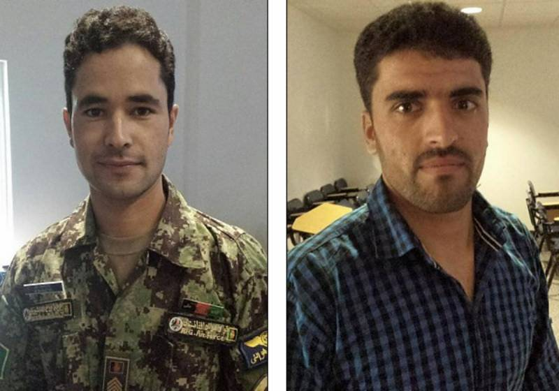 Two Afghan Air Force trainees disappear from US military base in Georgia