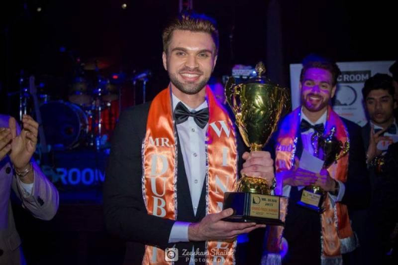 Pakistani model Imran Umer wins Mr. Dubai 2015 title