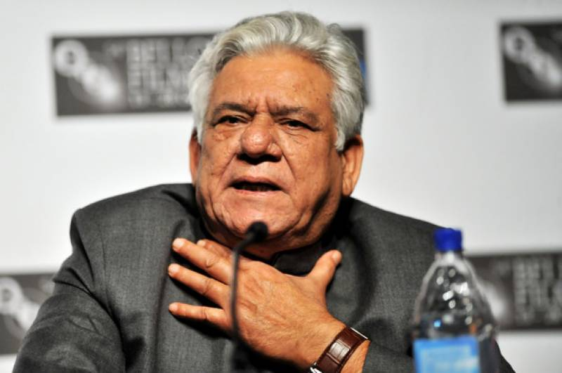 Om Puri condemns Indian bigotry