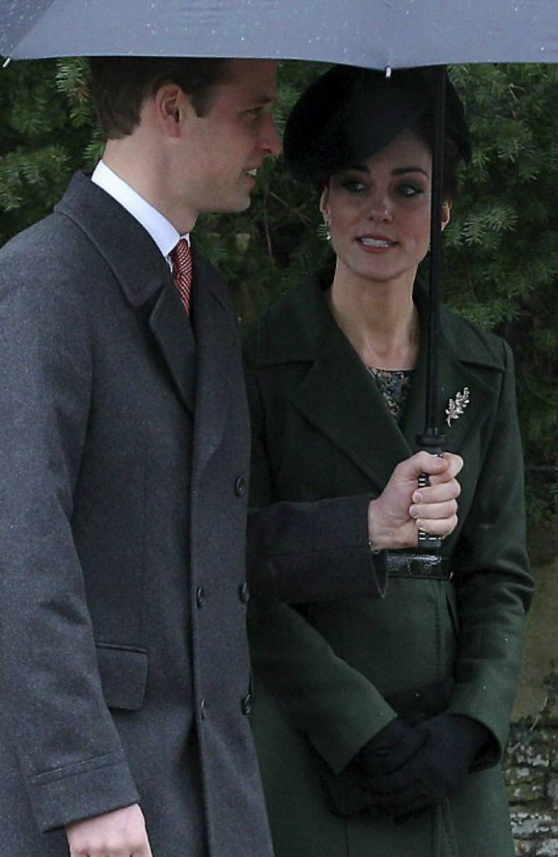 Kate, William attend Sandringham Christmas Day service