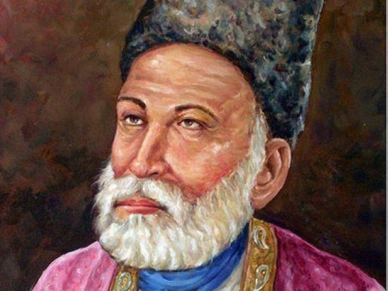 Mirza Ghalib being remembered on 218th birth anniversary