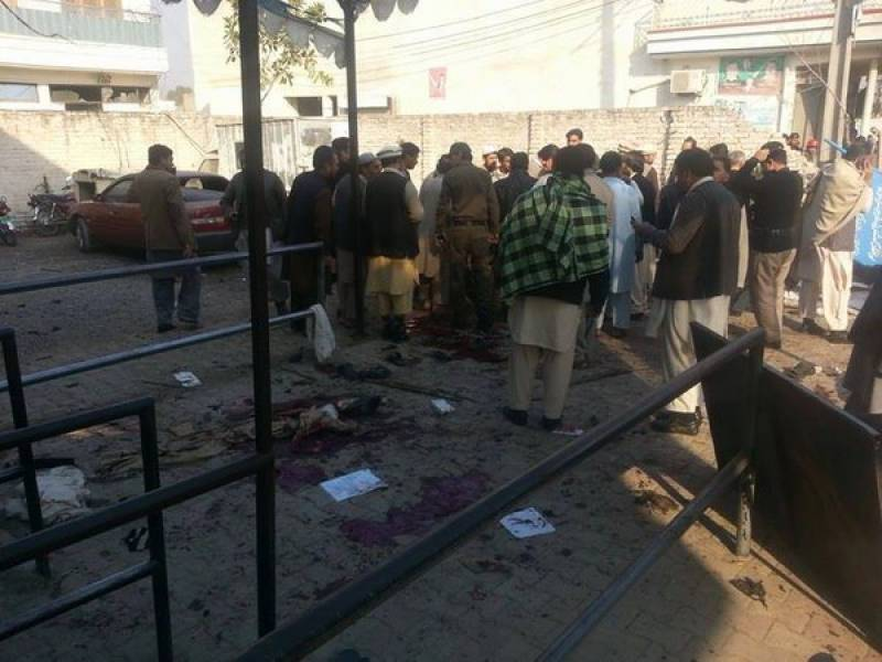 At least 26 dead, 47 injured in Mardan suicide blast