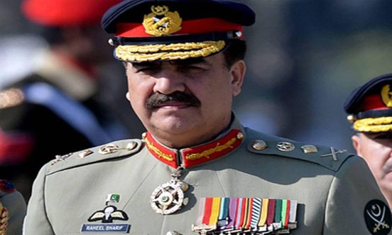 Army chief signs death warrants of nine terrorists
