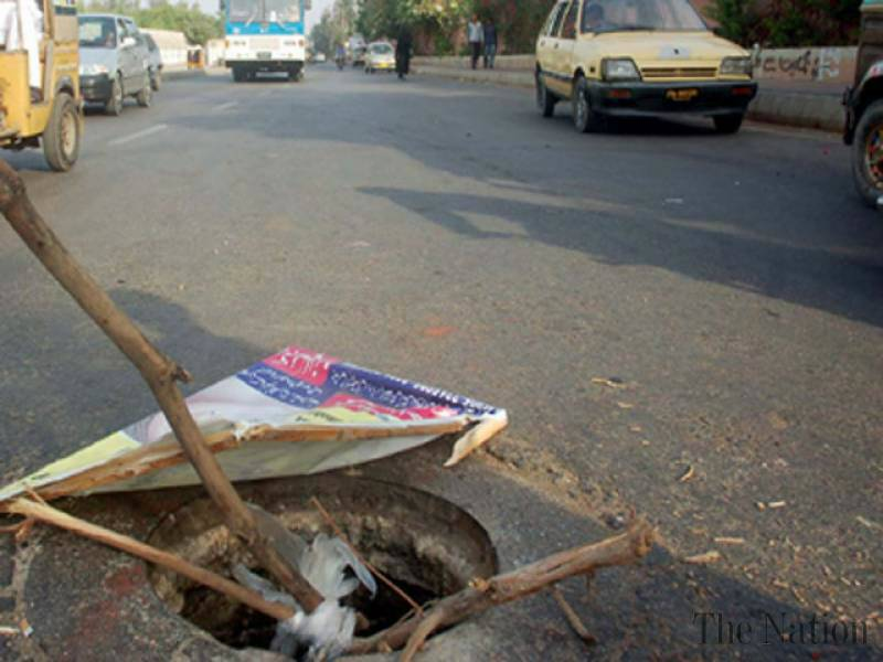 Open manhole claims another life in Islamabad