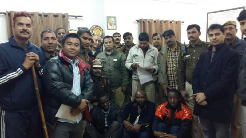 Three Nigerian men held for raping 19-year-old Indian girl in Delhi