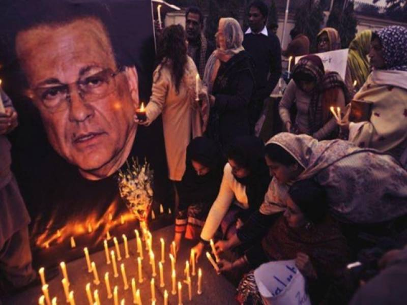 #ShaheedSalmanTaseer: Pakistani tweeps pay homage to slain Punjab governor