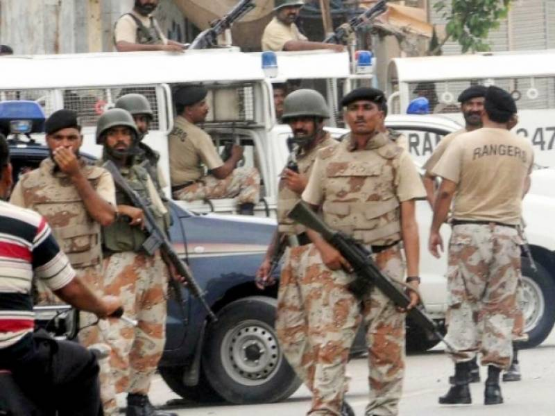Rangers recover huge cache of weapons