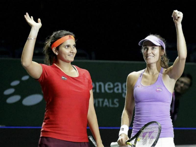 Perfect Pair: Sania Mirza-Martina Hingis set world record for most consecutive wins