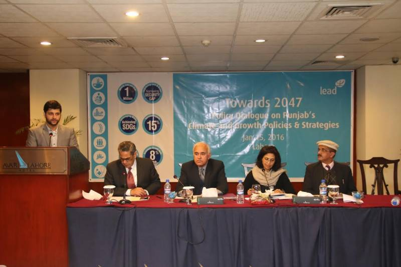 LEAD arranges moot on Punjab's climate, growth policies and strategies
