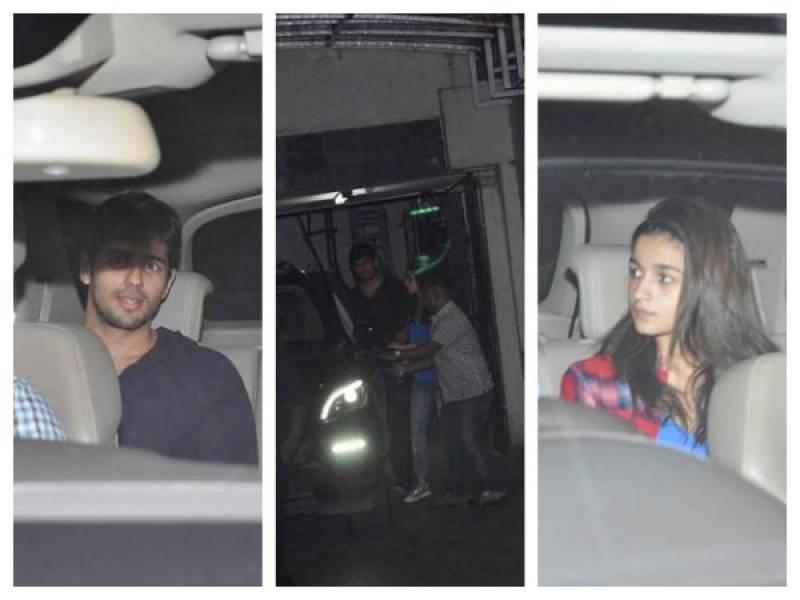 Sidharth Malhotra, Alia Bhatt's midnight date once again
